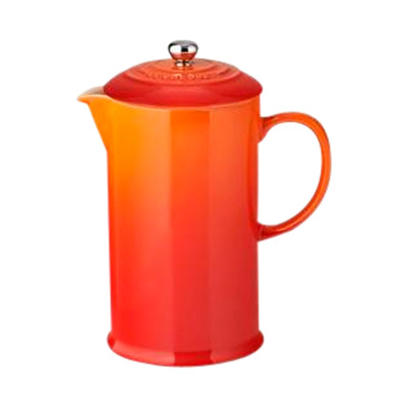 Le Creuset Le Creuset Stoneware Coffee Press, 1L