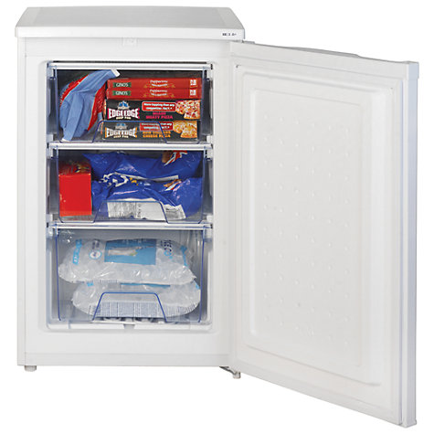Buy Lec U5511W Freezer, White Online at johnlewis.com
