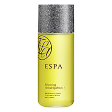 Buy ESPA Balancing Herbal SpafreshToner, 200ml Online at johnlewis.com