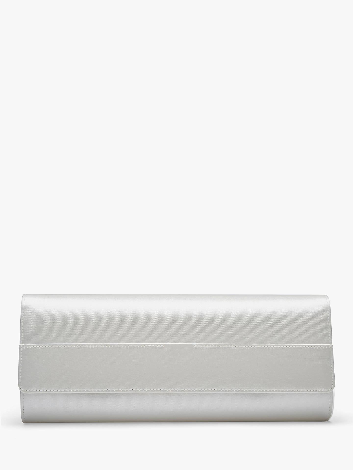 6a43d40635 Buy Rainbow Club Greta Satin Clutch Bag, Ivory Online at johnlewis.com ...