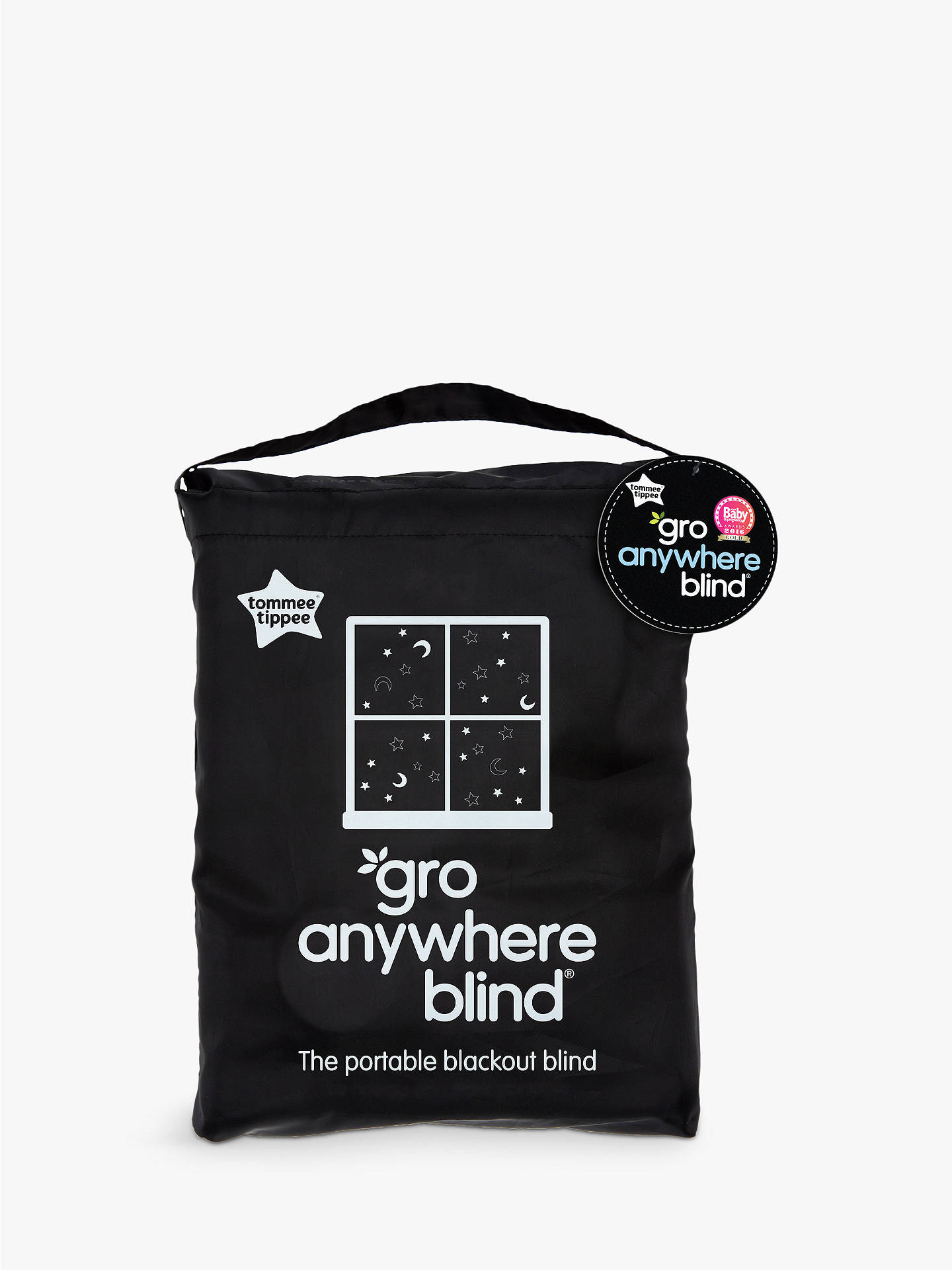 BuyGro-Anywhere Blackout Blind, Star and Moon Print Online at johnlewis.com