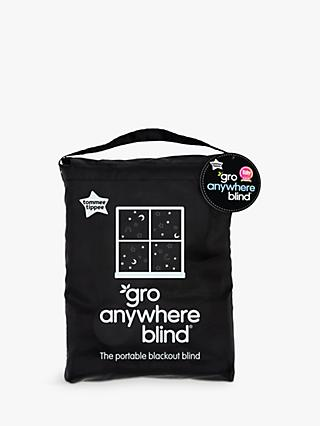 Gro-Anywhere Blackout Blind, Star and Moon Print