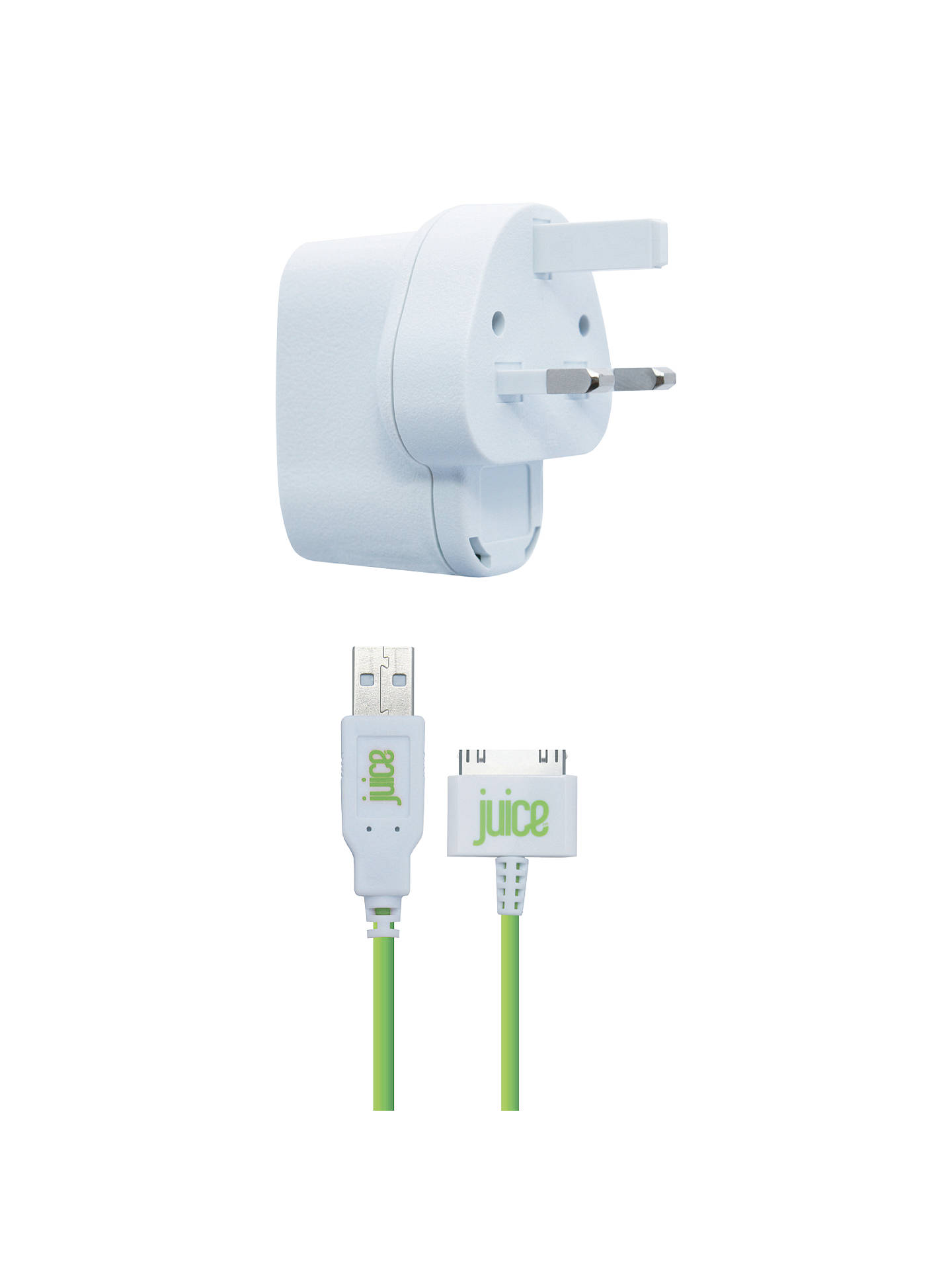 Buy Juice Apple Juice Home Charger for Apple 30-pin Devices Online at johnlewis.com