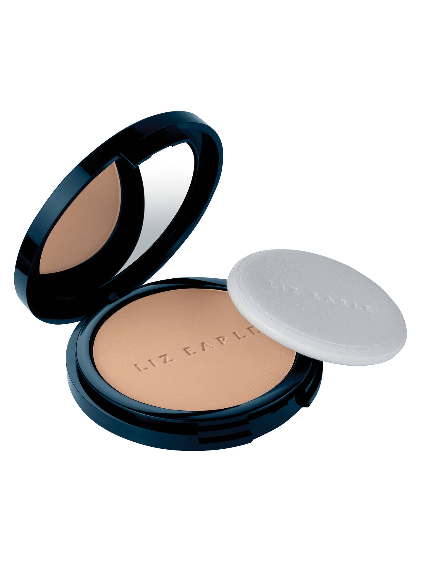 BuyLiz Earle Natural Finish Pressed Powder, 02 Sheer Ivory Online at johnlewis.com