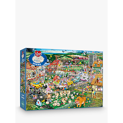 Image of Gibsons I Love Spring Jigsaw Puzzle, 1000 Pieces