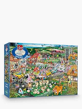 Gibsons I Love Spring Jigsaw Puzzle, 1000 Pieces