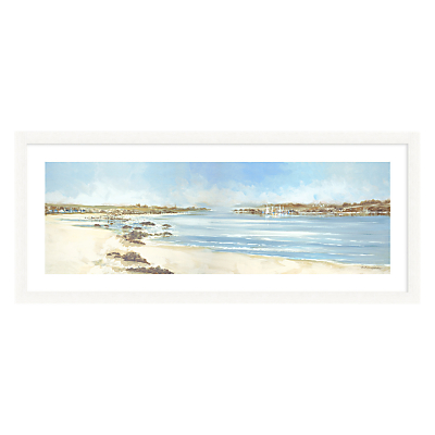 Anthony Waller – On The Beach Framed Print, 40.5 x 99cm