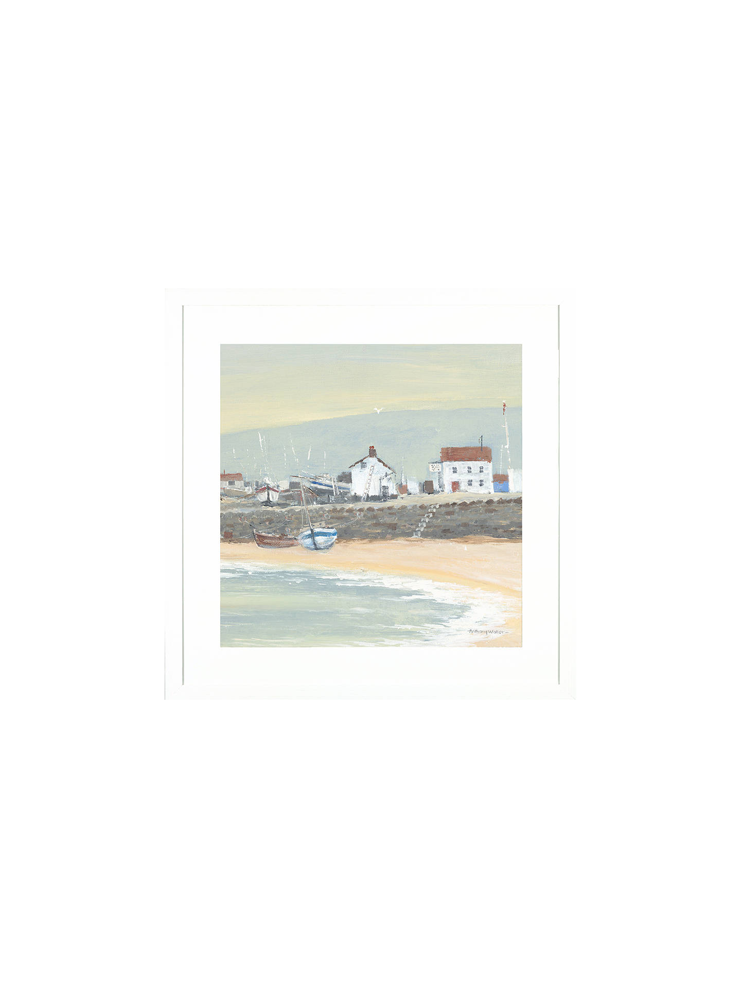 Buy Anthony Waller - The Slipway Framed Print, 45 x 45cm Online at johnlewis.com