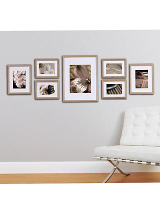 Gallery Perfect Multi-aperture Photo Frame Set, 7 Photo