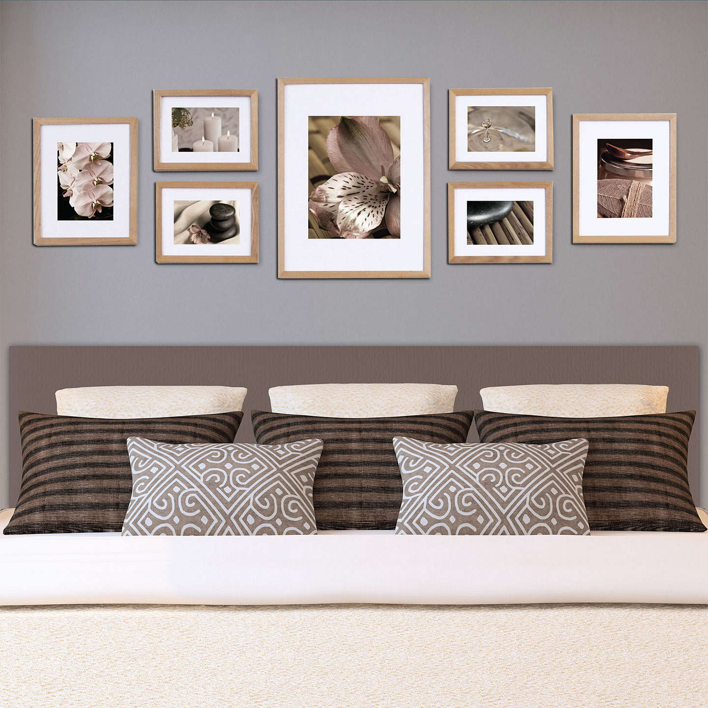 BuyGallery Perfect Frame Set, Natural Online at johnlewis.com