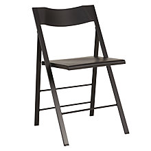 Buy John Lewis Pocket Folding Chair, Black Online at johnlewis.com