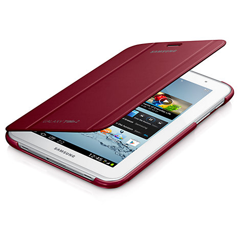 Buy Samsung Book Cover for Galaxy Tab 2 7.0, Red Online at johnlewis.com