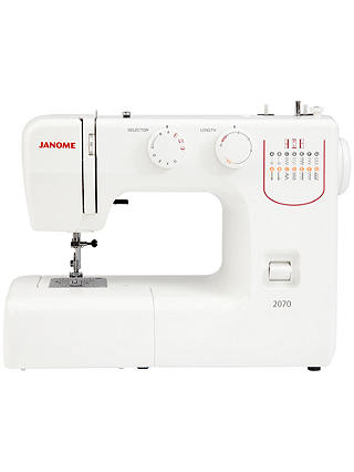 Buy Janome 2070R Sewing Machine Online at johnlewis.com