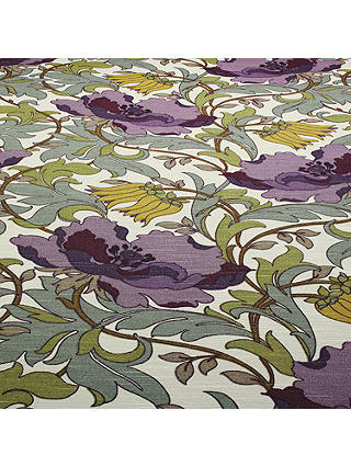 Buy John Lewis & Partners Deco Tulip Furnishing Fabric, Amethyst Online at johnlewis.com
