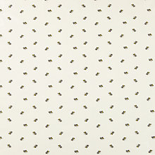 Buy John Lewis Bees PVC Tablecloth Fabric, Yellow/Black Online at johnlewis.com
