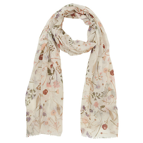 Buy Fat Face Wildflower Print Scarf Online at johnlewis.com