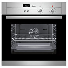 Buy Neff B12S52N3GB Single Electric Oven, Stainless Steel Online at johnlewis.com