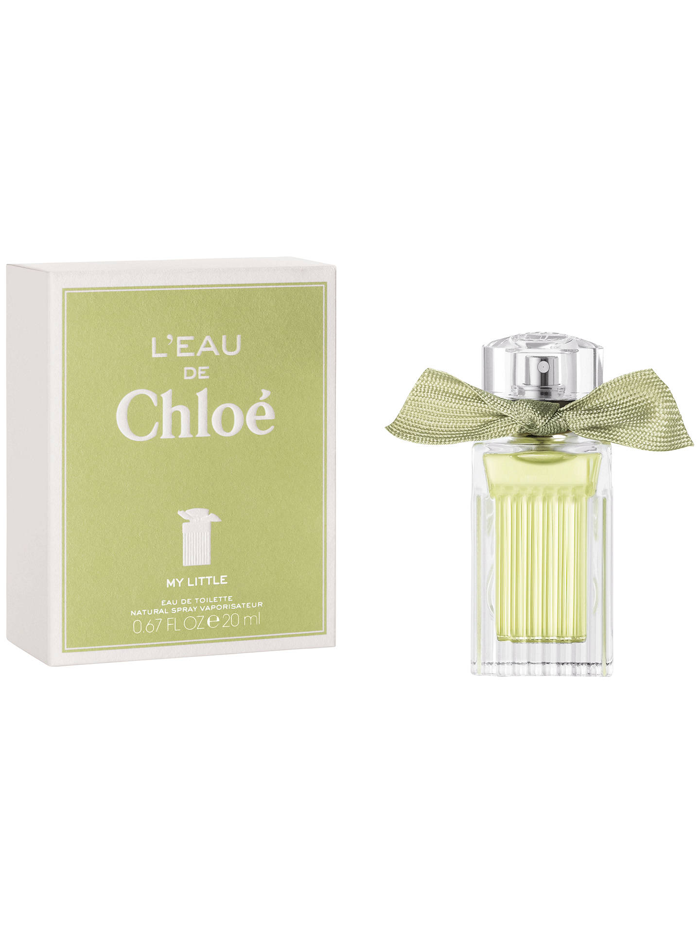 BuyChloé My Little L'eau Eau de Toilette, 20ml Online at johnlewis.com