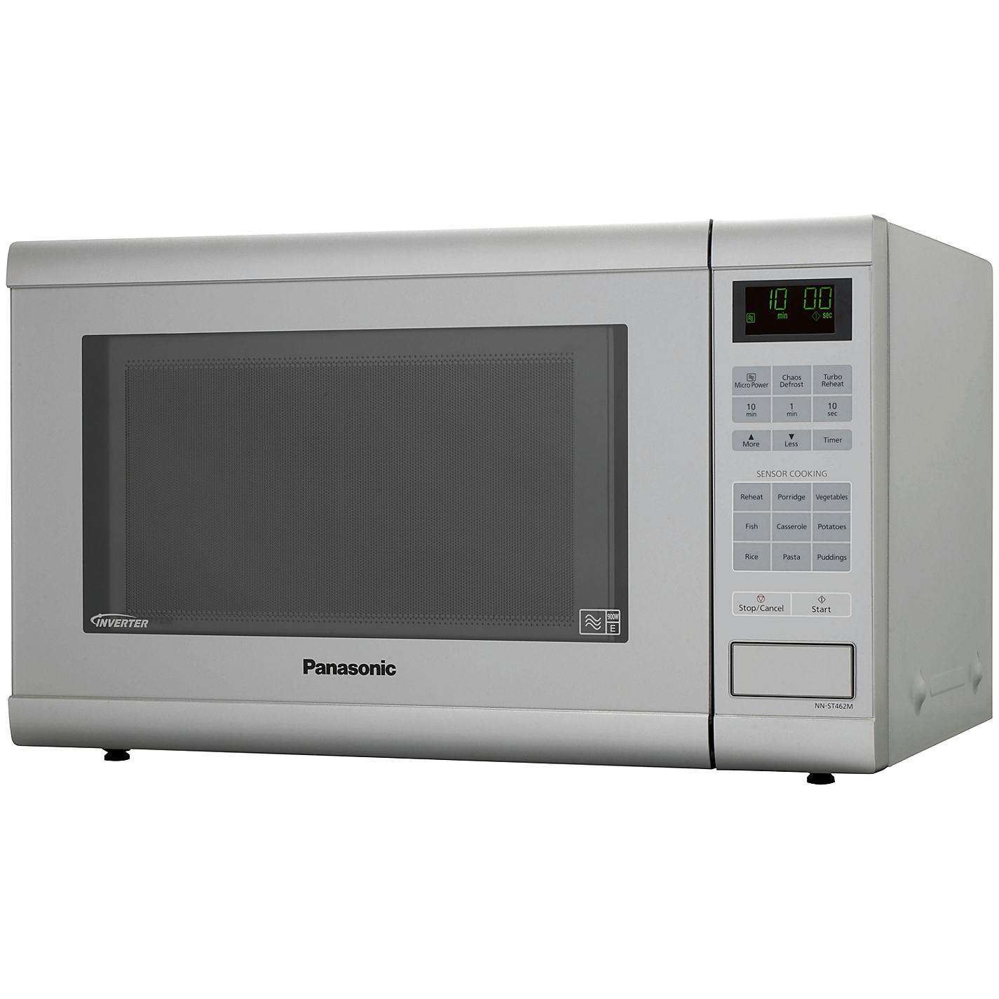 Panasonic Nn St462m Microwave Silver Online At Johnlewis