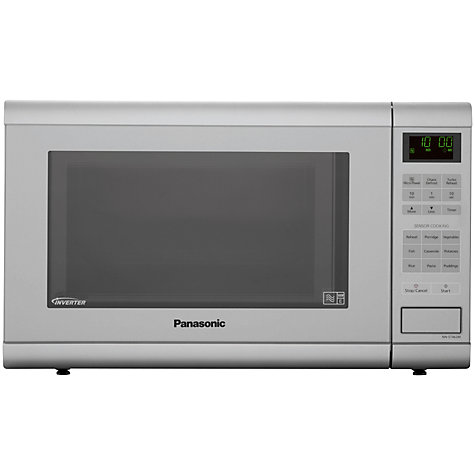 Buy Panasonic NN-ST462M Microwave, Silver Online at johnlewis.com