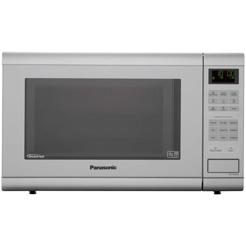 Panasonic Nn St462mbpq Microwave Silver Online At Johnlewis