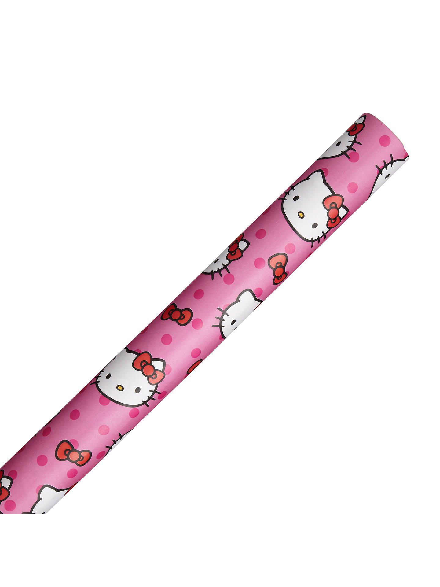 75259b38d Buy Hello Kitty Wrapping Paper, Pink, L3m Online at johnlewis.com ...