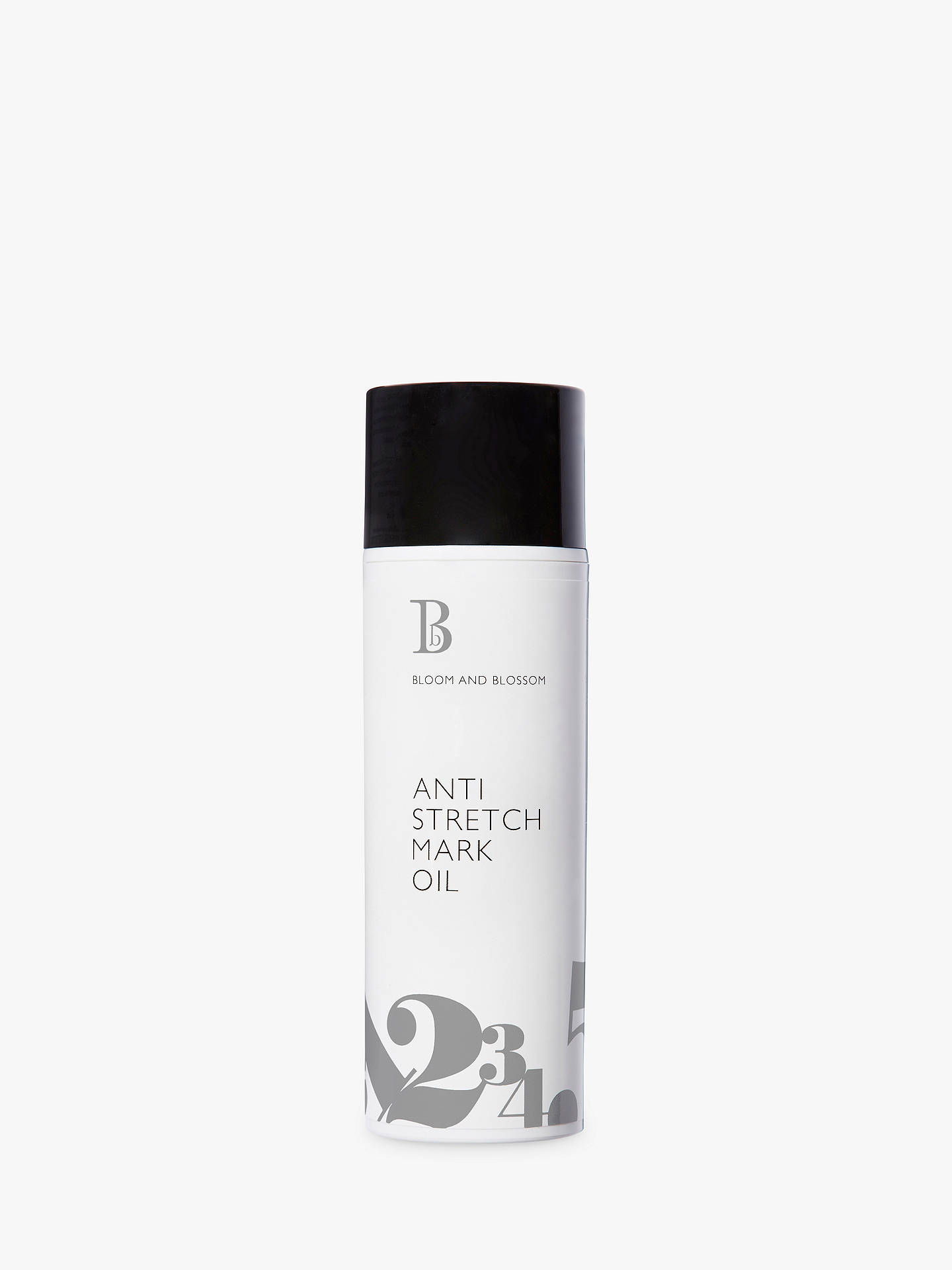 Buy Bloom and Blossom Anti Stretch Mark Oil, 150ml Online at johnlewis.com