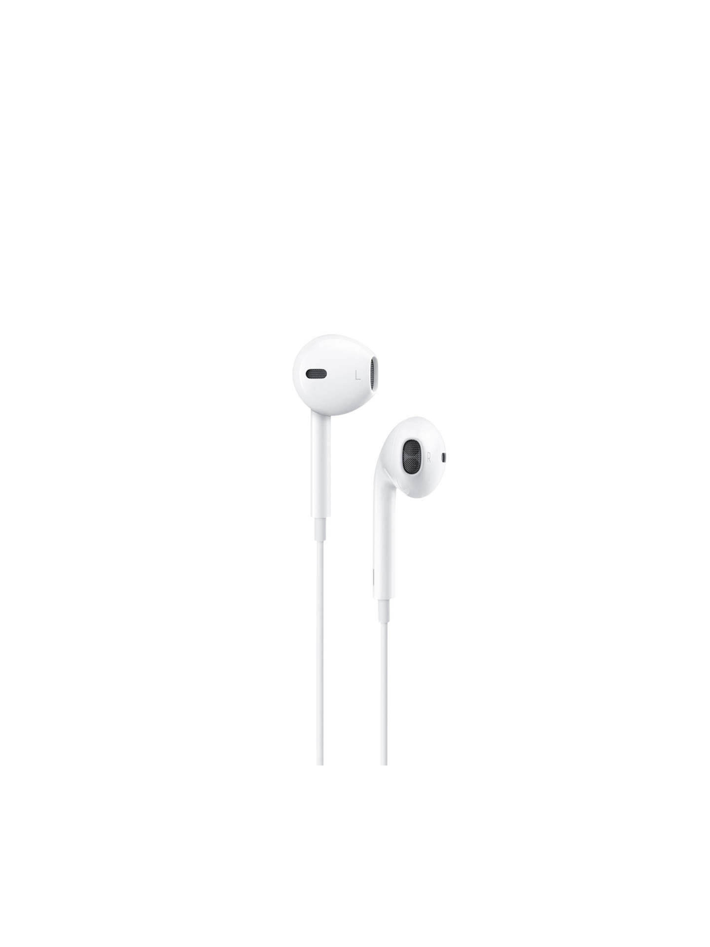 d5b9c922c6d Buy Apple EarPods with Remote and Mic, White Online at johnlewis.com