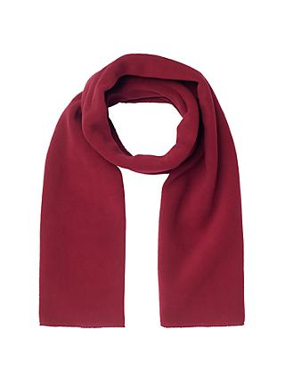 School Fleece Scarf, Maroon