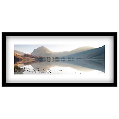 James Bell – Buttermere View Landscape Framed Print, 49 x 104cm