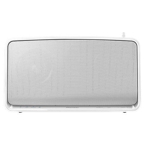 Buy Pioneer A3 Portable Wireless Speaker with Apple AirPlay & HTC Connect, White Online at johnlewis.com