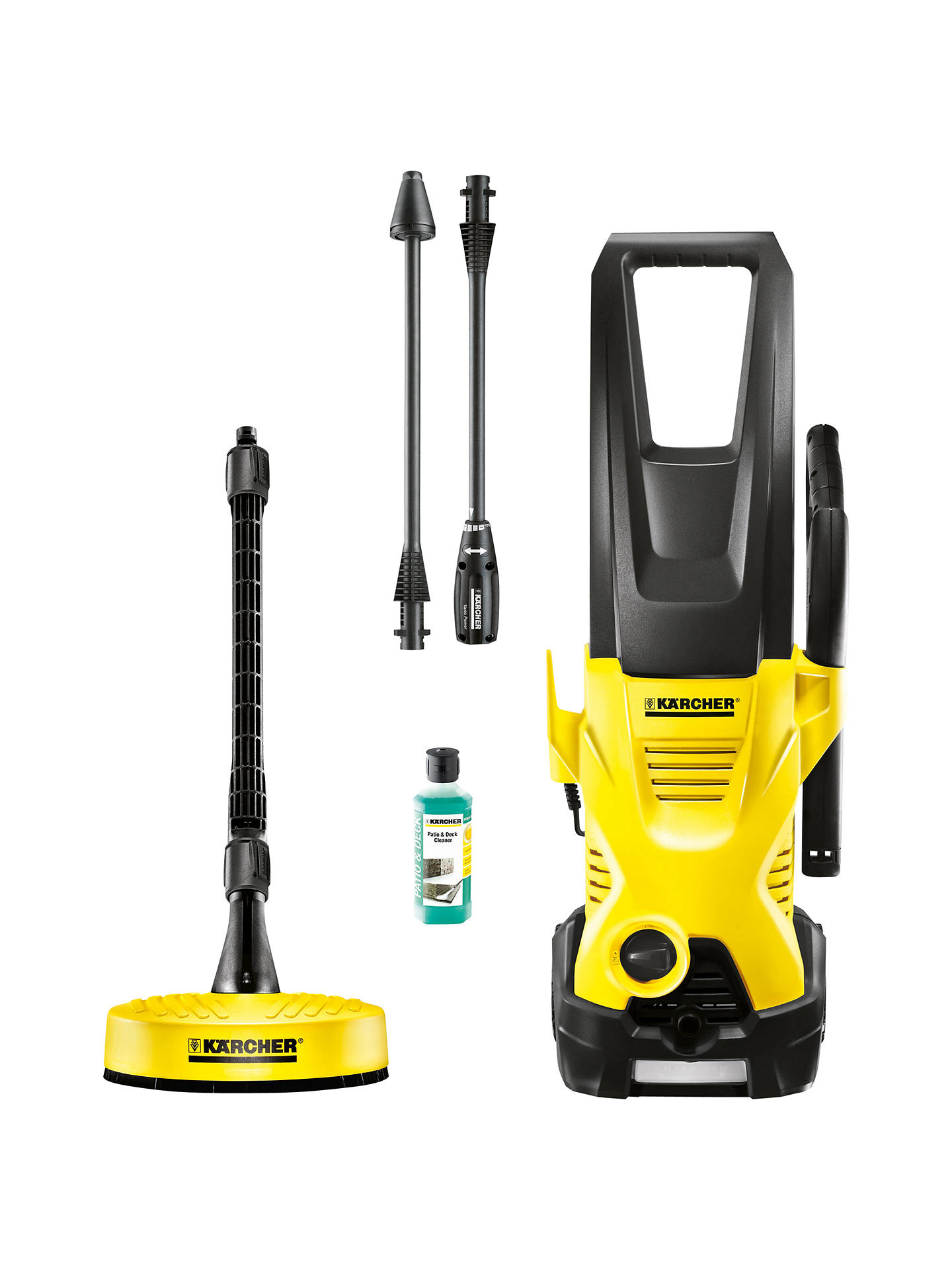 k rcher k2 premium home pressure washer at john lewis. Black Bedroom Furniture Sets. Home Design Ideas