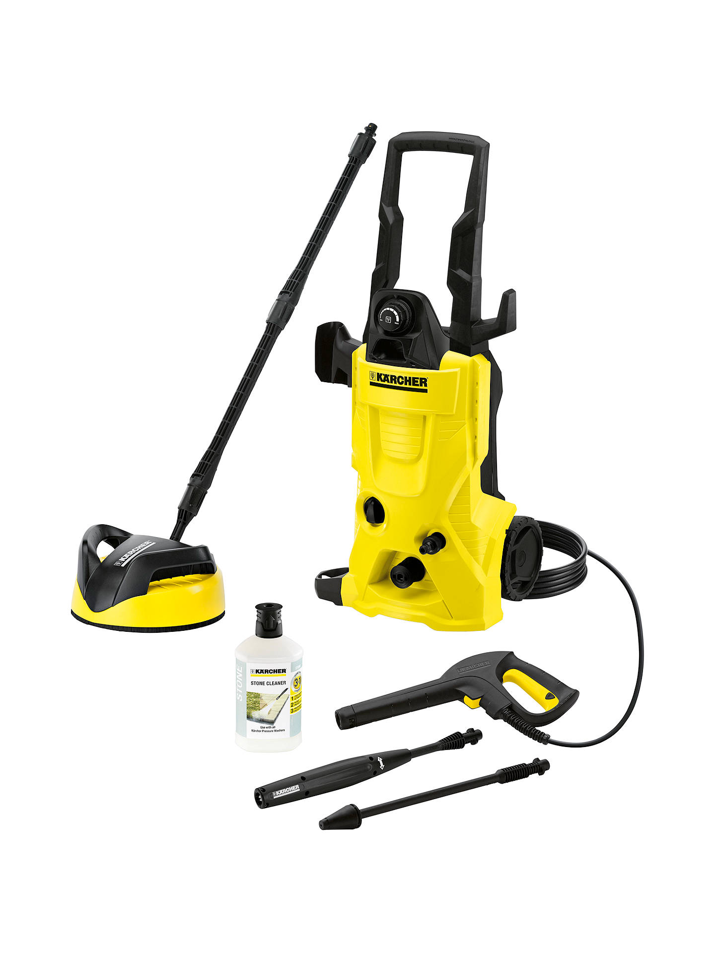k rcher k4 home pressure washer at john lewis partners. Black Bedroom Furniture Sets. Home Design Ideas