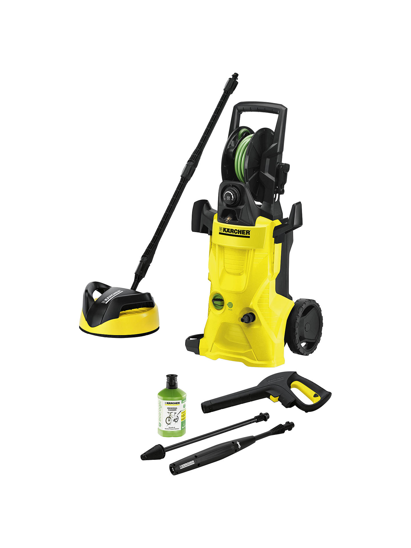 k rcher k4 premium eco logic home pressure washer at john. Black Bedroom Furniture Sets. Home Design Ideas