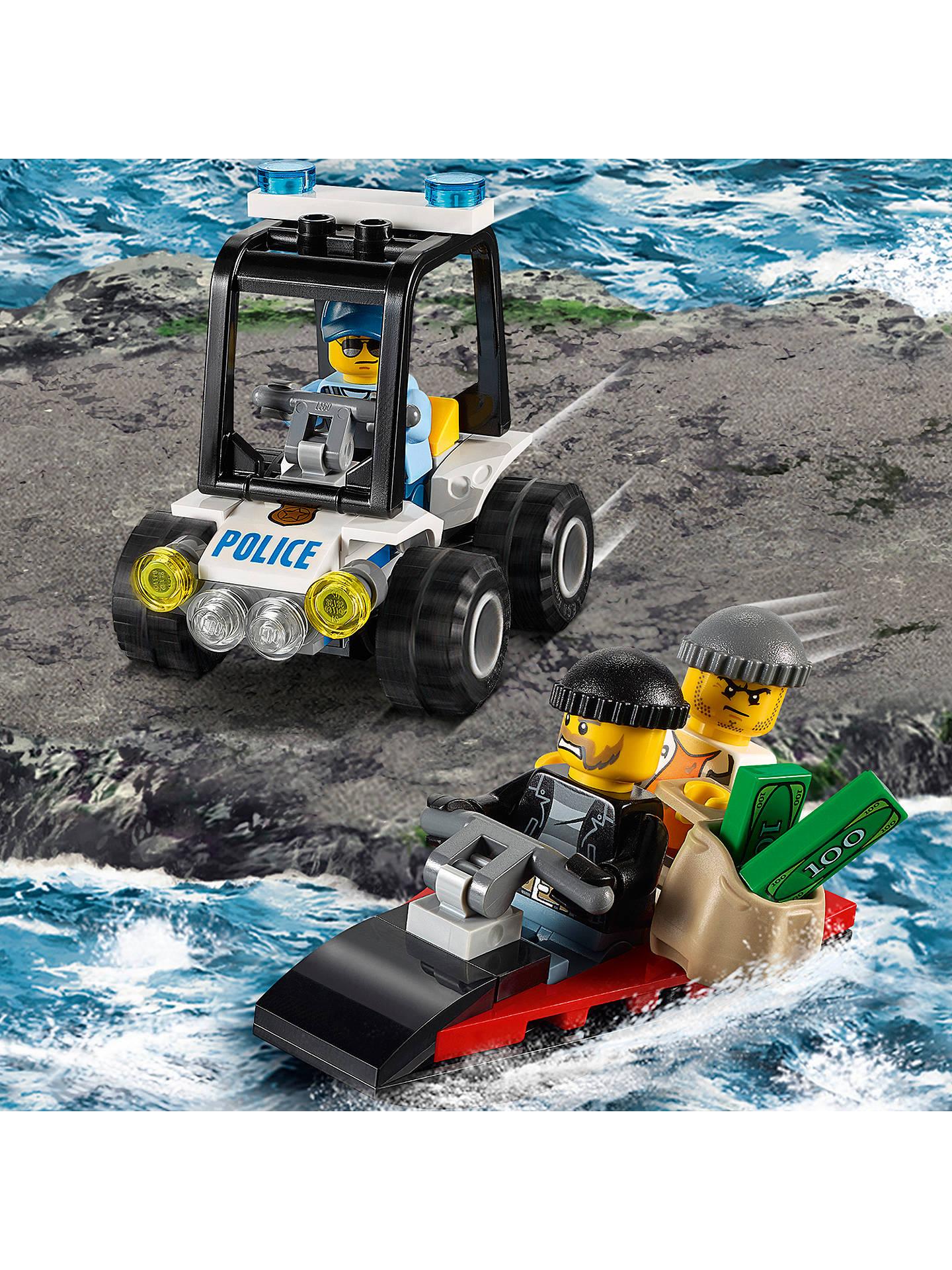 Lego City 60127 Prison Island Starter Set At John Lewis Partners Police Buylego Online