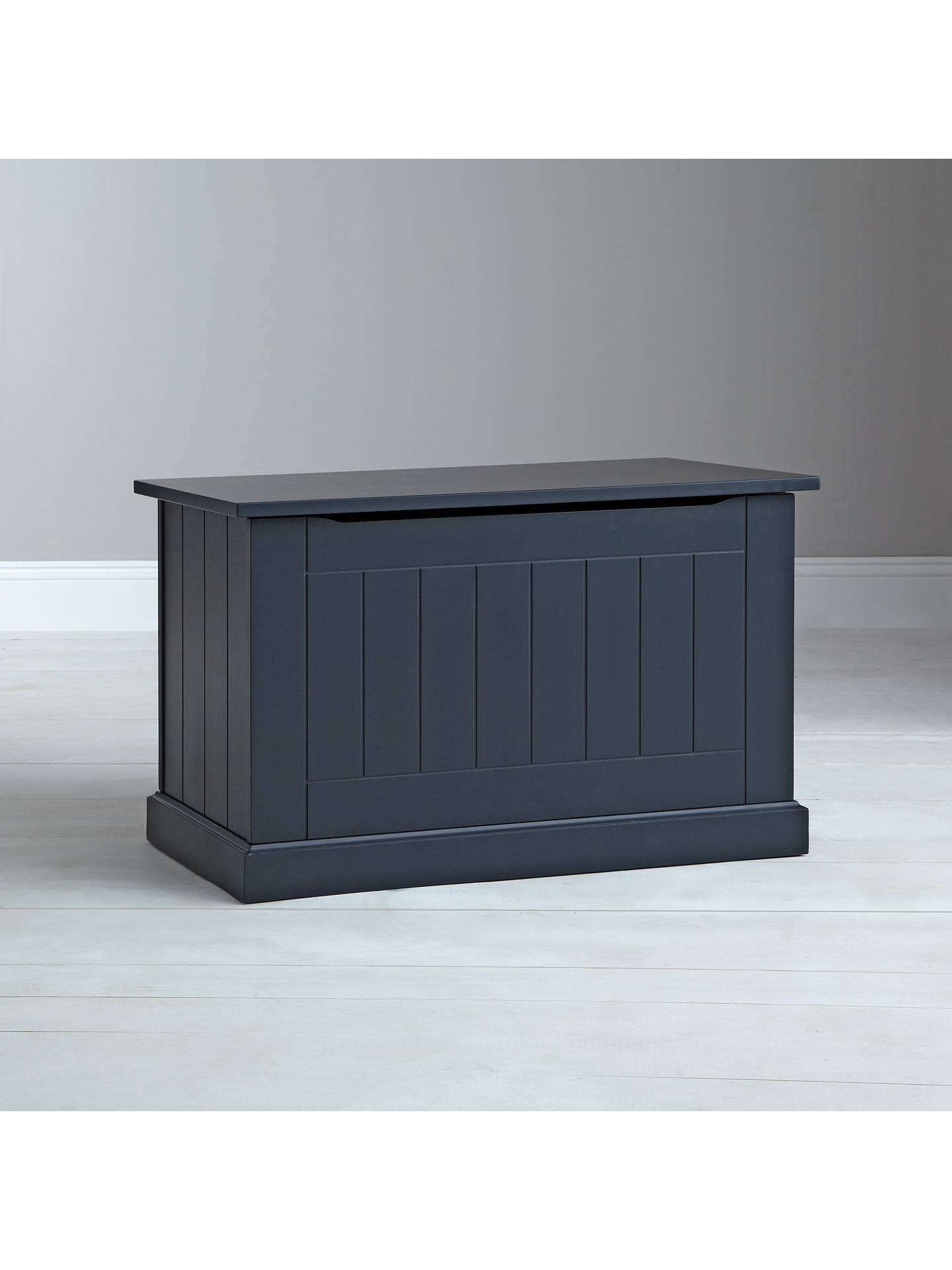 Buy John Lewis Ashton Toy Box, Blue Online at johnlewis.com