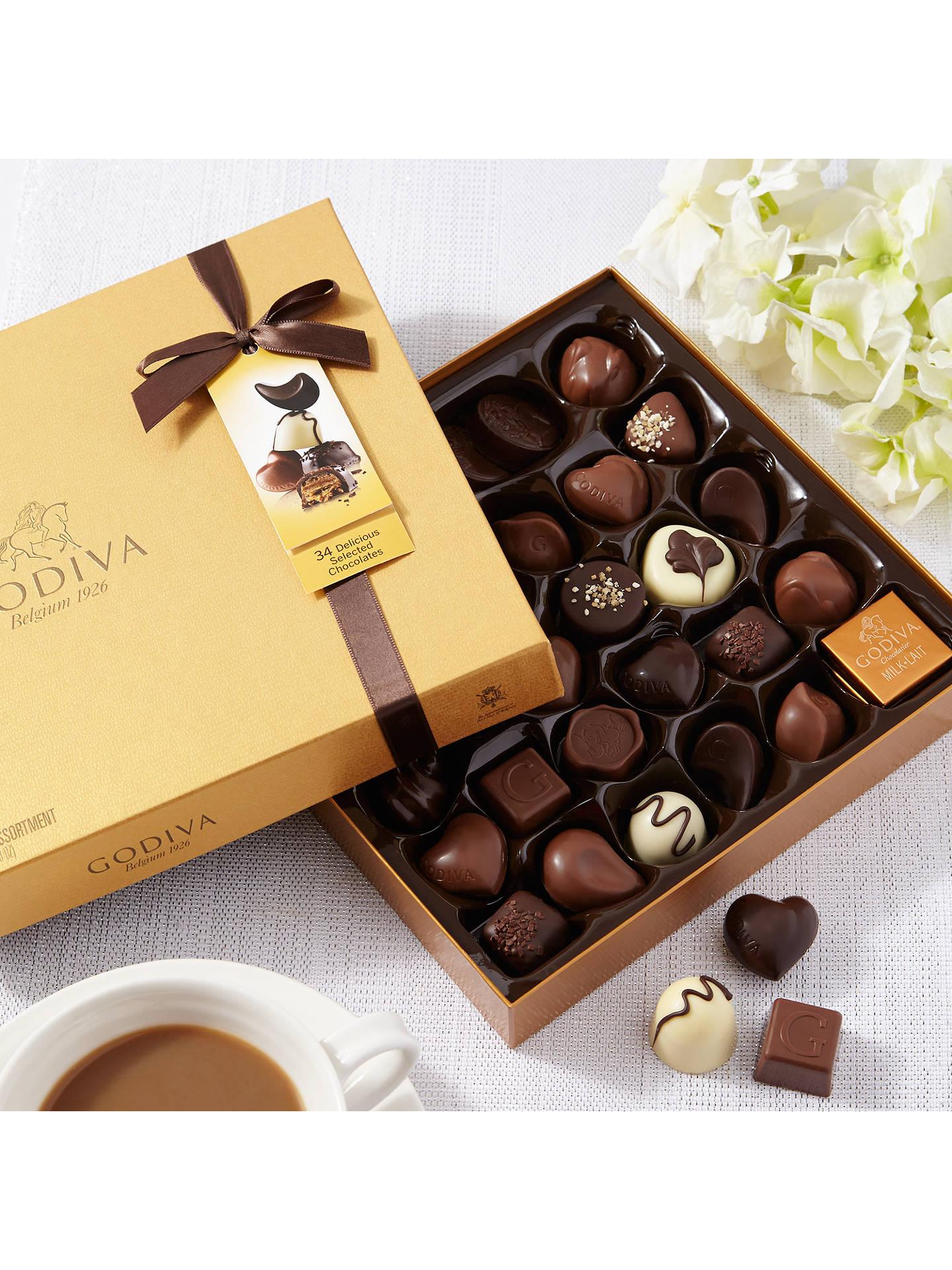 Godiva Gold Chocolate Box 385g At John Lewis Amp Partners