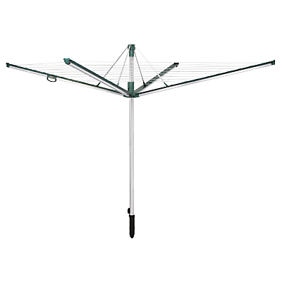 Product photo of Leifheit linomatic plus 500 outdoor rotary clothes airer washing line