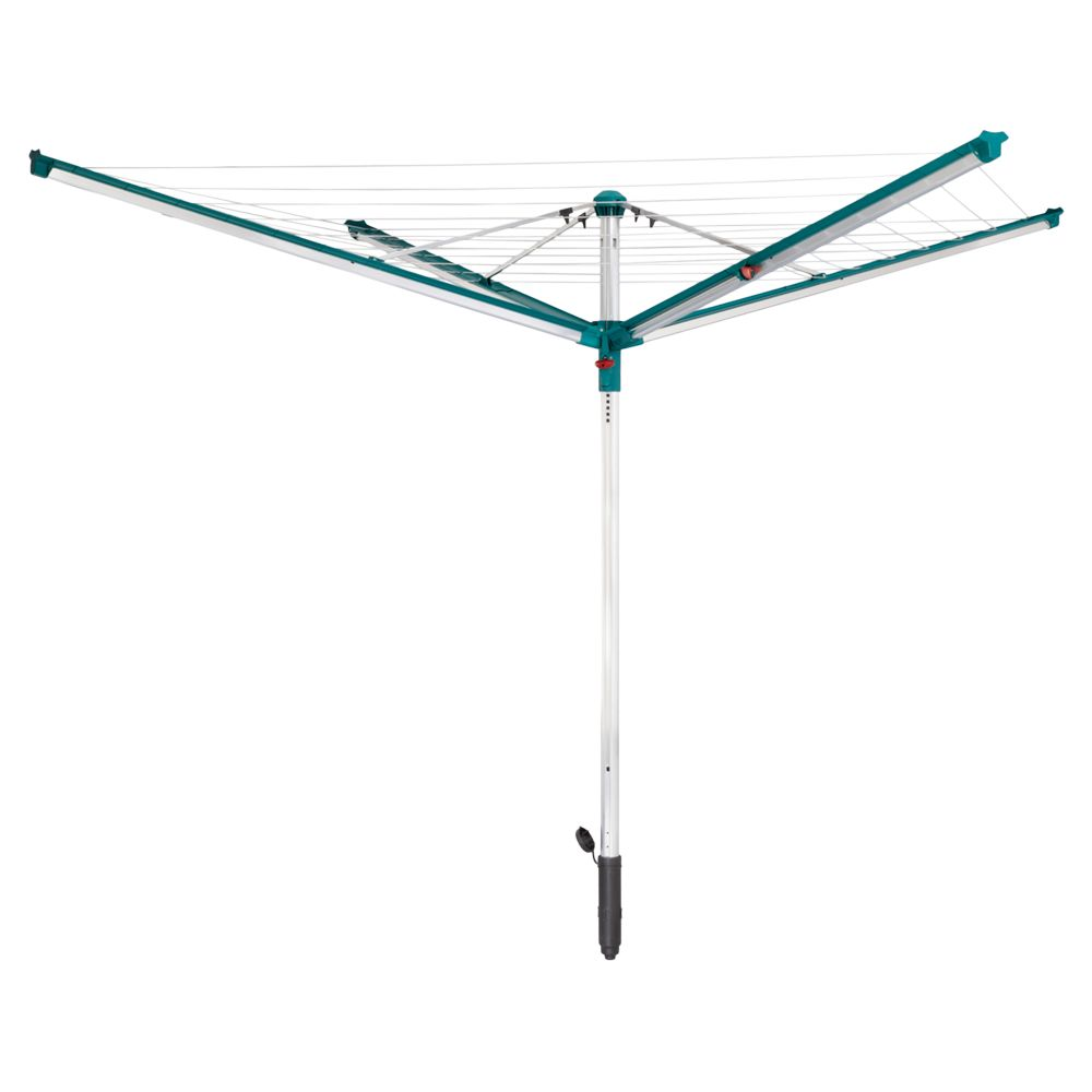 Leifheit Leifheit Linomatic Deluxe 600 Outdoor Rotary Clothes Airer Washing Line