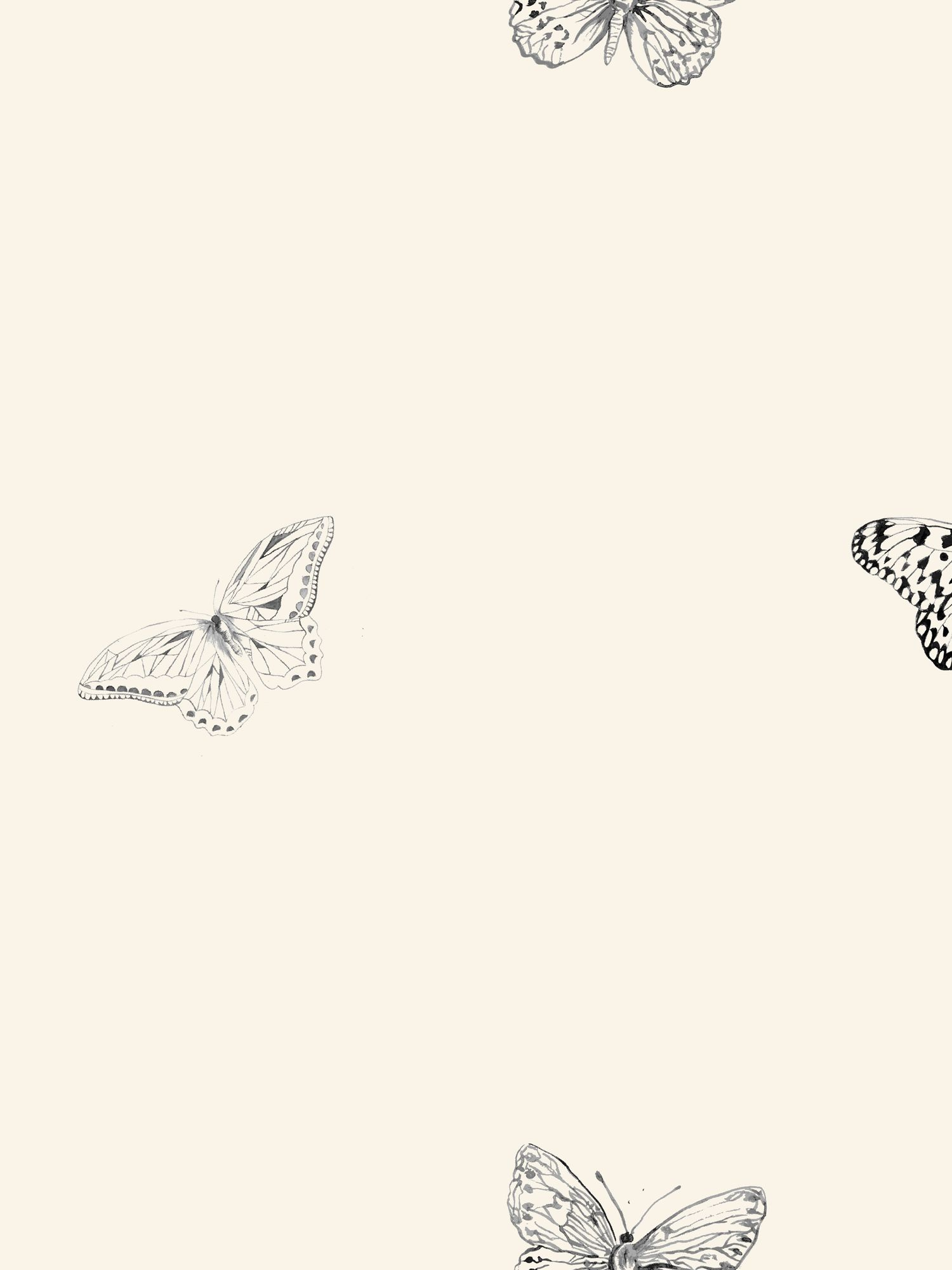 Buy John Lewis Butterflies wallpaper Online at johnlewis.com