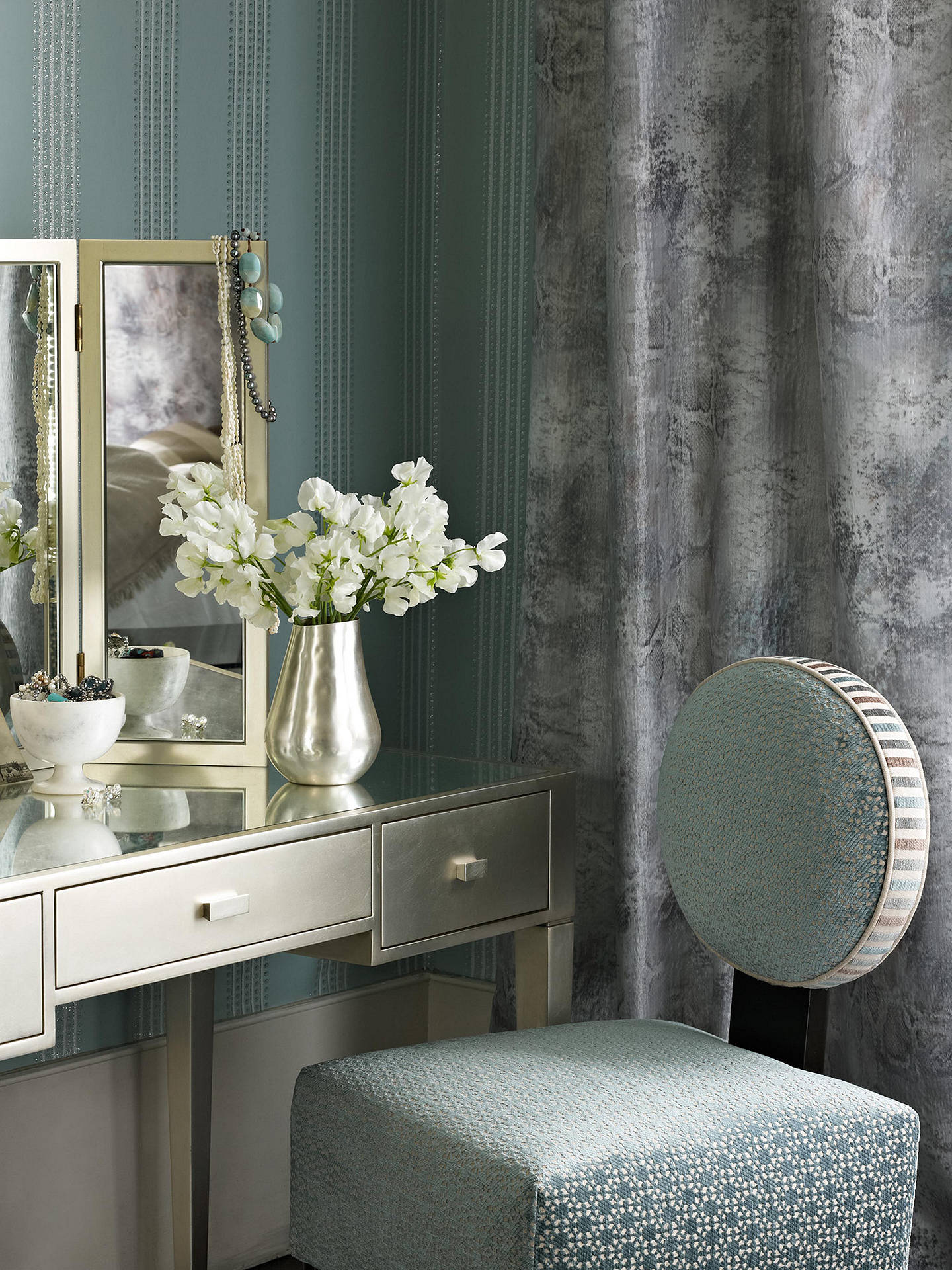 Buy Osborne & Little Paillons Wallpaper, W6435/01 Online at johnlewis.com