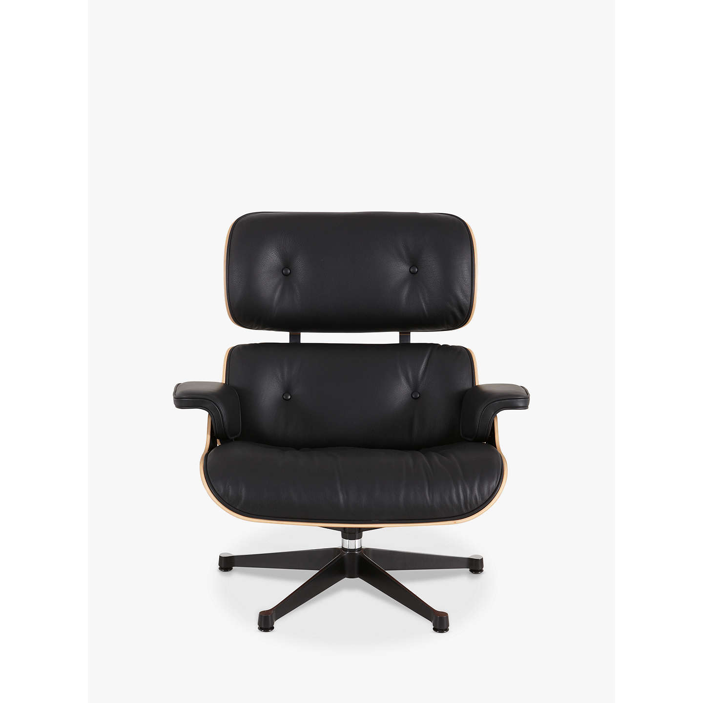 Vitra Eames Lounge Armchair Black Pallisander S At Johnlewis Com