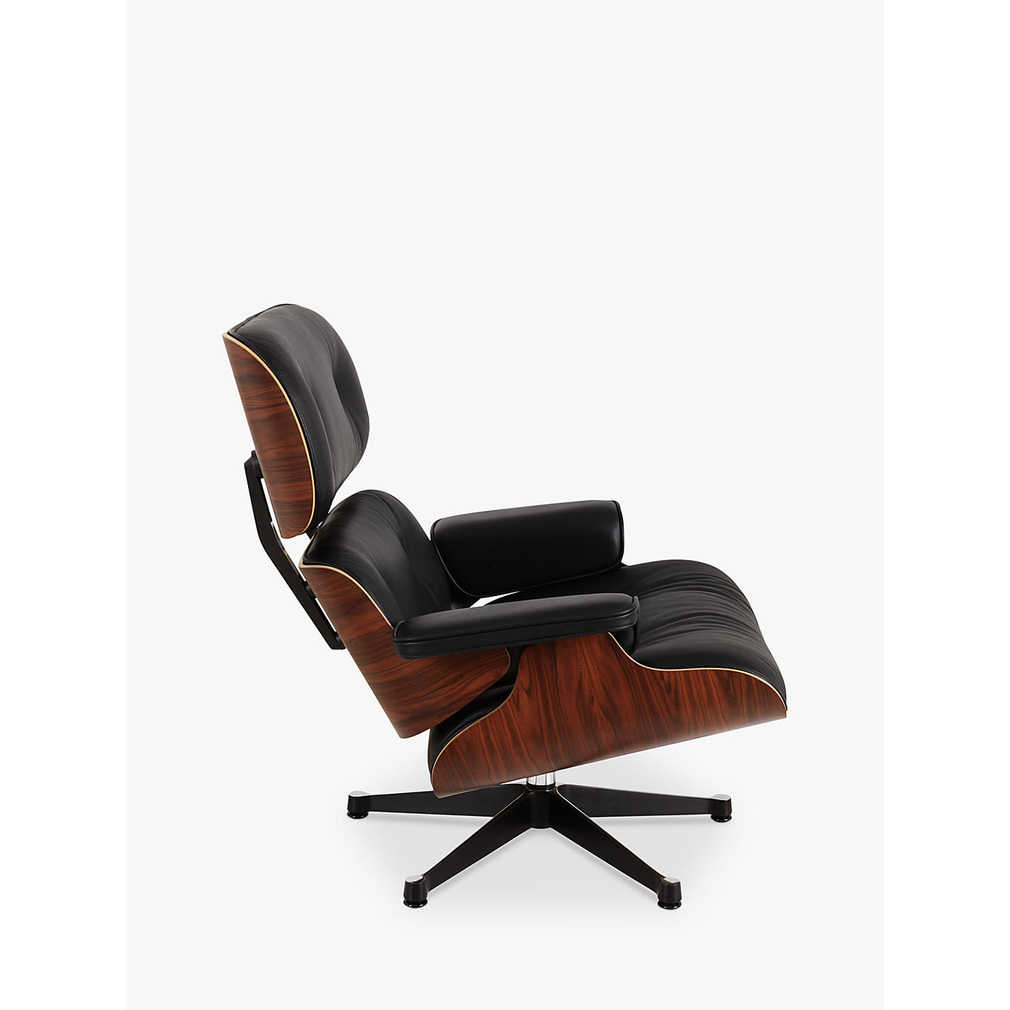 eames leather chair and footstool. buy vitra eames lounge armchair online at johnlewis.com leather chair and footstool