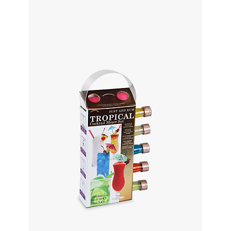 Buy The Modern Cocktail Tropical Highballs Mixers, Pack of 5 Online at johnlewis.com