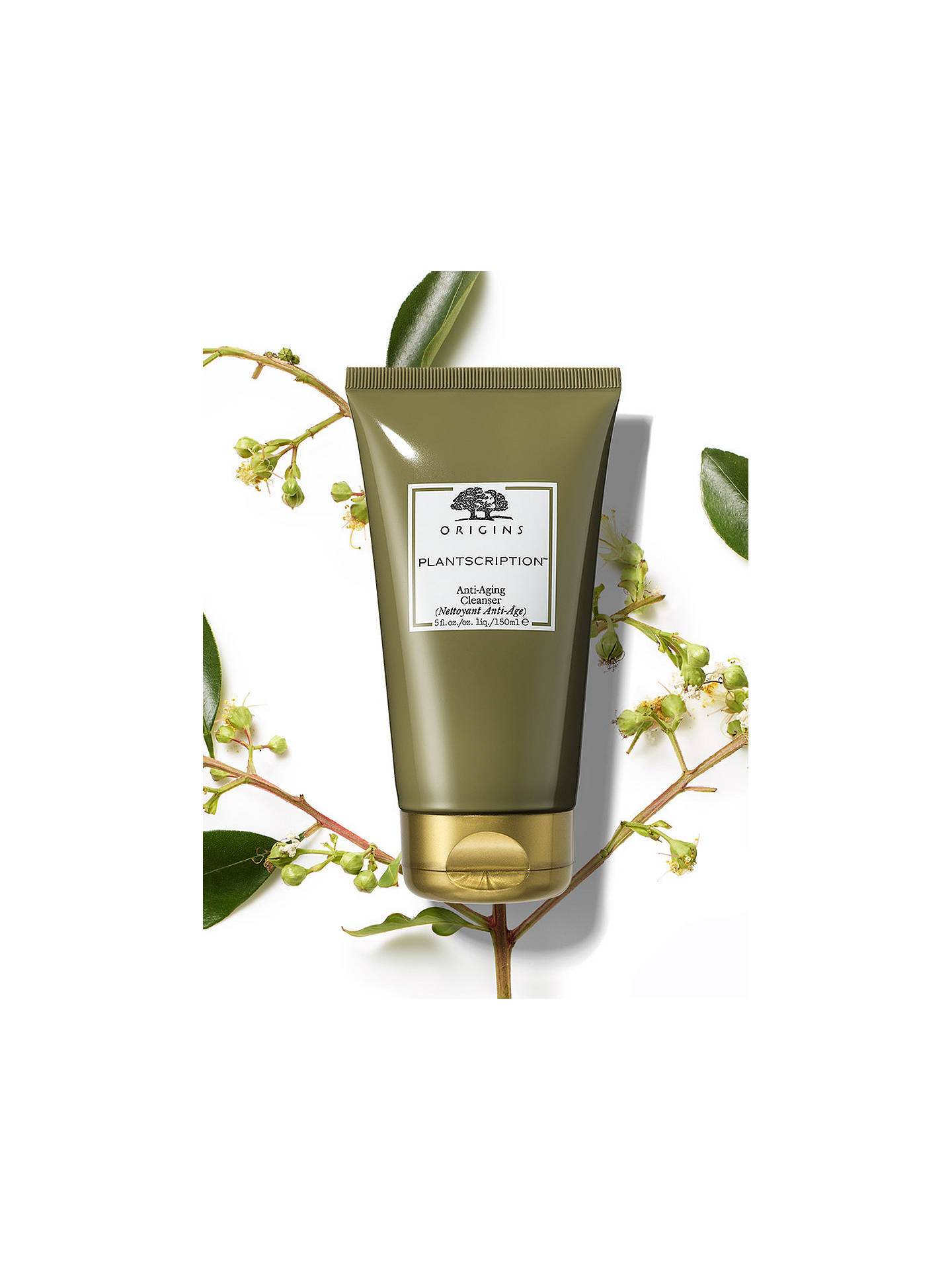 BuyOrigins Plantscription™ Anti-Ageing Cleanser, 150ml Online at johnlewis.com
