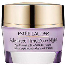 Buy Estée Lauder Advanced Time Zone Age Reversing Line/Wrinkle Night Creme, 50ml Online at johnlewis.com