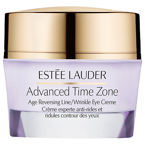 Buy Estée Lauder Advanced Time Zone Age Reversing Line/Wrinkle Eye Creme, 15ml Online at johnlewis.com