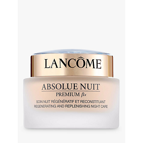 Buy Lancôme Absolue Bx Night, 75ml Online at johnlewis.com