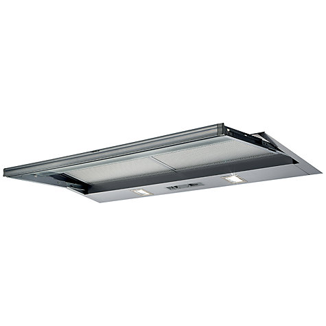 Buy Elica Sklock90 LED Built-in Cooker Hood, Grey Online at johnlewis.com