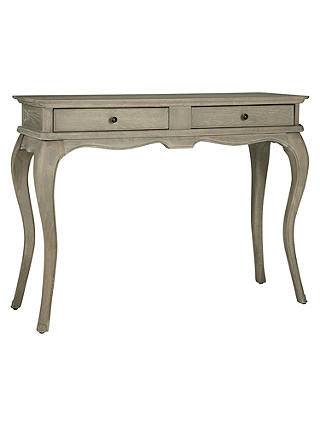 Buy Willis Gambier Camille Dressing Table, White Washed Oak Online at johnlewis.com